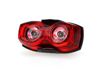 Артикул DE 0007 — Фонарь OEM Bicycle 3-Mode Red LED Safety Warning Signal Taillight - Black + Red