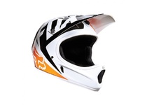 Артикул Н30848 — Велошлем Fox Racing Rampage Race Helmet White/Orange L (12394-061-L)