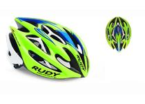 Артикул HL519301CL — Каска Rudy Project STERLING CANNONDALE LIME/BLUE/WHITE S-M