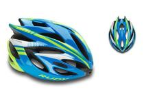 Артикул HL570032 — Каска Rudy Project RUSH BLUE-LIME FLUO SHINY M