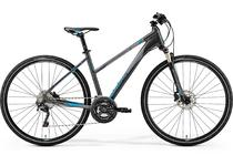 Артикул 74855 — В-д 19 Merida Crossway XT Edition К:700C Р:XS(43cm)Lady DarkSilver/Blue (6110774855)