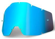 Артикул Н14260 — Линза 100% Racecraft/Accuri/Strata Anti-Fog Mirror Blue (51002-002-02)