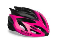 Артикул HL570172 — Каска Rudy Project RUSH Pink Fluo - Black Shiny M