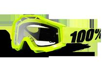 Артикул Н14243 — Очки 100% Accuri Fluo Yellow / Clear Lens (50200-004-02)