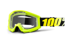 Артикул Н34104 — Очки 100% Strata Neon Yellow / Clear Lens (50400-004-02)