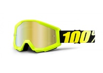 Артикул Н34110 — Очки 100% Strata Neon Yellow / Mirror Gold Lens (50410-004-02)