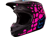 Артикул Н39779 — Мотошлем Fox V1 Grav Helmet Black/Pink XL (17355-285-XL)
