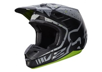 Артикул Н40240 — Мотошлем Fox V2 Nirv Helmet Grey/Yellow XXL (17372-086-2X)
