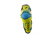 Артикул Н43137 — Наколенники Leatt Dual Axis Knee & Shin Guard Lime/Blue L/XL (5017010191)