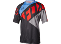 Артикул Н44727 — Велоджерси Fox Demo SS Seca Jersey Black/Grey/Red S (19023-096-S)