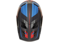 Артикул Н45262 — Козырек к шлему Fox Rampage Pro Carbon Seca Visor Black/Grey/Red (20301-096-OS)