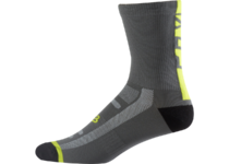 Артикул Н45292 — Носки Fox Logo Trail 8-inch Sock Graphite/Yellow S/M (18464-174-S/M)