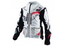 Артикул Н43749 — Мотокуртка Leatt GPX 5.5 Enduro Jacket White/Black XL (5017810343)
