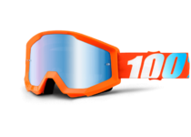 Артикул Н47161 — Очки 100% Strata Orange / Mirror Blue Lens (50410-006-02)