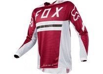 Артикул Н48674 — Мотоджерси Fox Flexair Preest Jersey Dark Red XL (19414-208-XL)