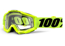 Артикул Н55279 — Очки 100% Accuri Enduro Fluo Yellow / Clear Dual Lens (50202-004-02)