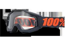 Артикул Н29801 — Очки 100% Accuri Enduro Gunmetal / Clear Dual Lens (50202-025-02)