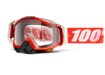 Артикул Н29775 — Очки 100% Racecraft Fire Red / Clear Lens (50100-003-02)