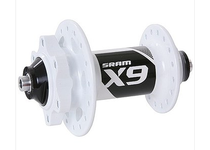 Артикул О0002392 — Втулка SRAM MTB X9 6-bolt V2 Disc Front white 32h 100 9mm QR (00.2015.081.200)