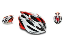 Артикул HL512702 — Каска Rudy Project STERLING MTB WHITE-RED FLUO SHINY L