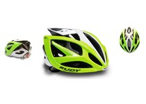 Артикул HL540041 — Каска Rudy Project AIRSTORM LIME FLUO/WHITE SHINY S-M