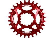 Артикул Н41494 — Звезда Kore Narrow Wide Front Chain Ring SRAM 32T Red (KCRFNW0232RAT)
