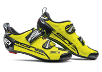 Артикул CT4Air — Велотуфли SIDI T-4 AIR CARBON COMP желтый флюо/черный