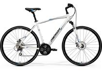 Артикул 80974 — Велосипед 17 Merida Crossway 20-MD Колесо:700C Рама:55cm White/Blue/Black (80974)