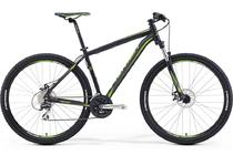 "Артикул 21106 — Велосипед Merida Big.Nine 20-MD Size: 21"" 16' Matt-Black(Green) (21106)"