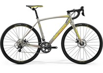 Артикул 18541 — В-д 18 Merida CycloСross 400 К:700C Р:SM(52cm) SilkTitan/Yellow/Red (6110718541)