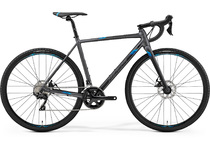 Артикул 82484 — Велосипед 19 Merida Mission CX400 К:700C Р:M(53cm) MattSilver/Blue (6110782484)