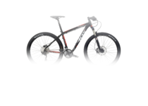 Артикул W521TM — Велосипед MTB Wilier 405 XB Mix XT'16 Black/Red Matt