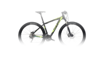 Артикул W519TM — Велосипед MTB Wilier 505 XN XT Mix'16 Black/Yellow Fluo