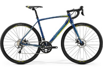 Артикул 77171 — Велосипед 19 Merida CycloСross 300 К:700C Р:S(50cm) Petrol/Yellow/LiteTeal (611077171)