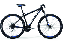 "Артикул D0006120 — Велосипед Merida Big Nine 20MD Size: 17"" 14 Black (blue/white) (43012)"