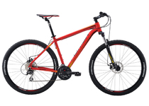 "Артикул 21043 — Велосипед Merida Big.Nine 20-MD Size: 19"" 16' Matt Red(Yellow/Black) (21043)"