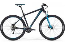 "Артикул 39133 — Велосипед Merida Big.Nine 70 Size: 19"" 16' Matt Black(Blue/Grey) (39133)"