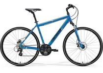 Артикул 22819 — Велосипед 18 Merida Crossway 15-MD К:700C Р:SM(48cm) Blue/White/Black (6110722819)