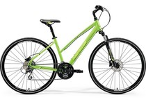 Артикул 22110 — Велосипед 18 Merida Crossway 20-D К:700C Р:L(54cm)Lady Green/LiteGreen/Black (6110722110)