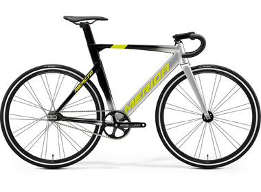 Велосипед 20 Merida Reacto Track 500 К:700C Р:ML(54cm) Silver/MetallicBlack/Yellow (6110832602)