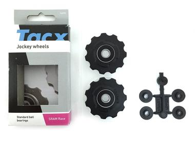 Ролики з.п. Tacx черные Sram Force, Rival, Race