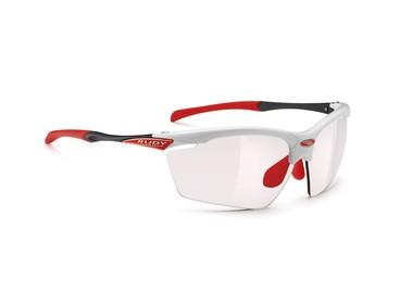 Очки Rudy Project AGON WHITE GLOSS ImpX Photochromic RED