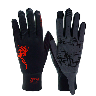 Артикул DVG003 Gloves — Перчатки DAREVIE DVG003 black/red   size XL