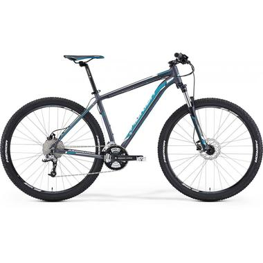 "Артикул 78372 — Велосипед Merida Big.Nine 70 Size: 19"" 15' Matt Anthracite (blue/white) (78372)"