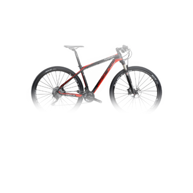 Артикул W517TM — Велосипед MTB Wilier 501XN XT Mix'16 Black/Red fluo