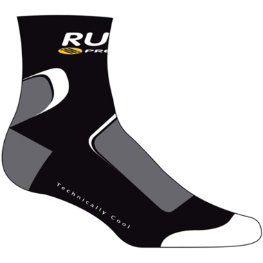 Артикул RU426602 — Носки RP SOCKS COTTON KOMPRESSION BLK/GRAP/WHI S