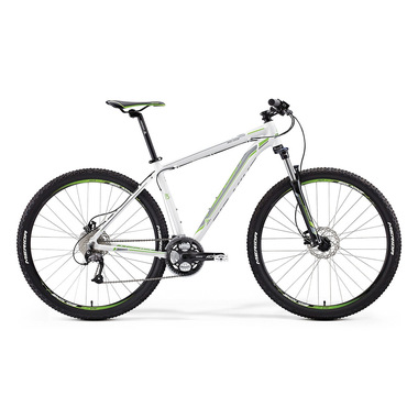 "Артикул D0010104 — Велосипед Merida Big.Nine 40 Size: 19"" 15'  White (light grey/green) (56066)"