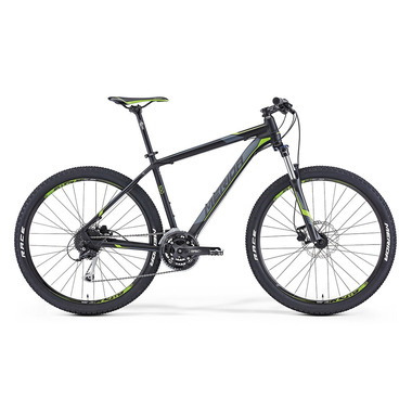 "Артикул 6110578480 — Велосипед Merida Big.Seven 100 Size: 15"" 15' Matt Black (dk. grey/green) (78480)"