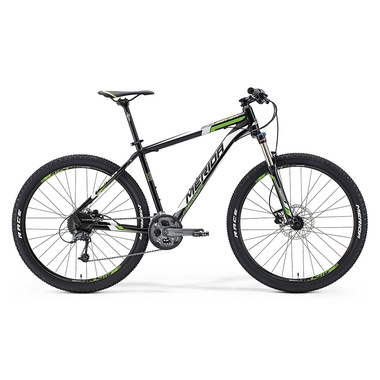 "Артикул 56389 — Велосипед Merida Big.Seven 300 Size: 21.5"" 15' Met. Black (white/green) (56389)"