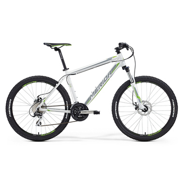 "Артикул D0010339 — Велосипед Merida Matts 6. 20-MD Size: 20"" 15' White (grey/green) (79997)"